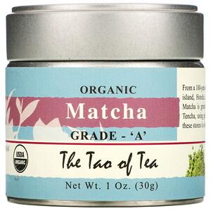 Зе Тао оф Ти, Organic Matcha, Grade A, 1 oz (30 g) отзывы