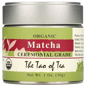 Зе Тао оф Ти, Organic Matcha, Ceremonial Grade, 1 oz (30 g) отзывы