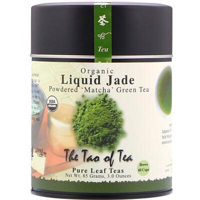 The Tao of Tea Органический порошкообразный зеленый чай матча, Liquid Jade, 85 г (3 унции)
