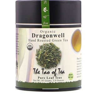 Зе Тао оф Ти, Organic Hand Roasted Green Tea, Dragonwell, 3.0 oz (85 g) отзывы покупателей