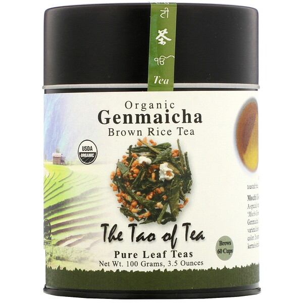 Organic Genmaicha, Brown Rice Tea , 3.5 oz (100 g)