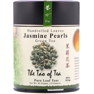 Зе Тао оф Ти, Handrolled Leaves Green Tea, Jasmine Pearls, 3 oz (85 g) отзывы