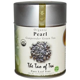 The Tao of Tea, 有機, ガンパウダー緑茶, パール, 4.0オンス (115 g)
