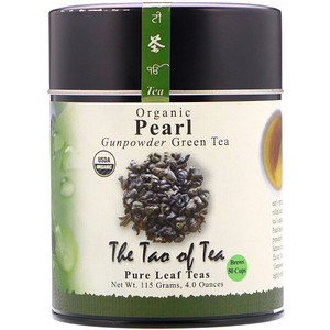 Зе Тао оф Ти, Organic Gunpowder Green Tea, Pearl, 4.0 oz (115 g) отзывы
