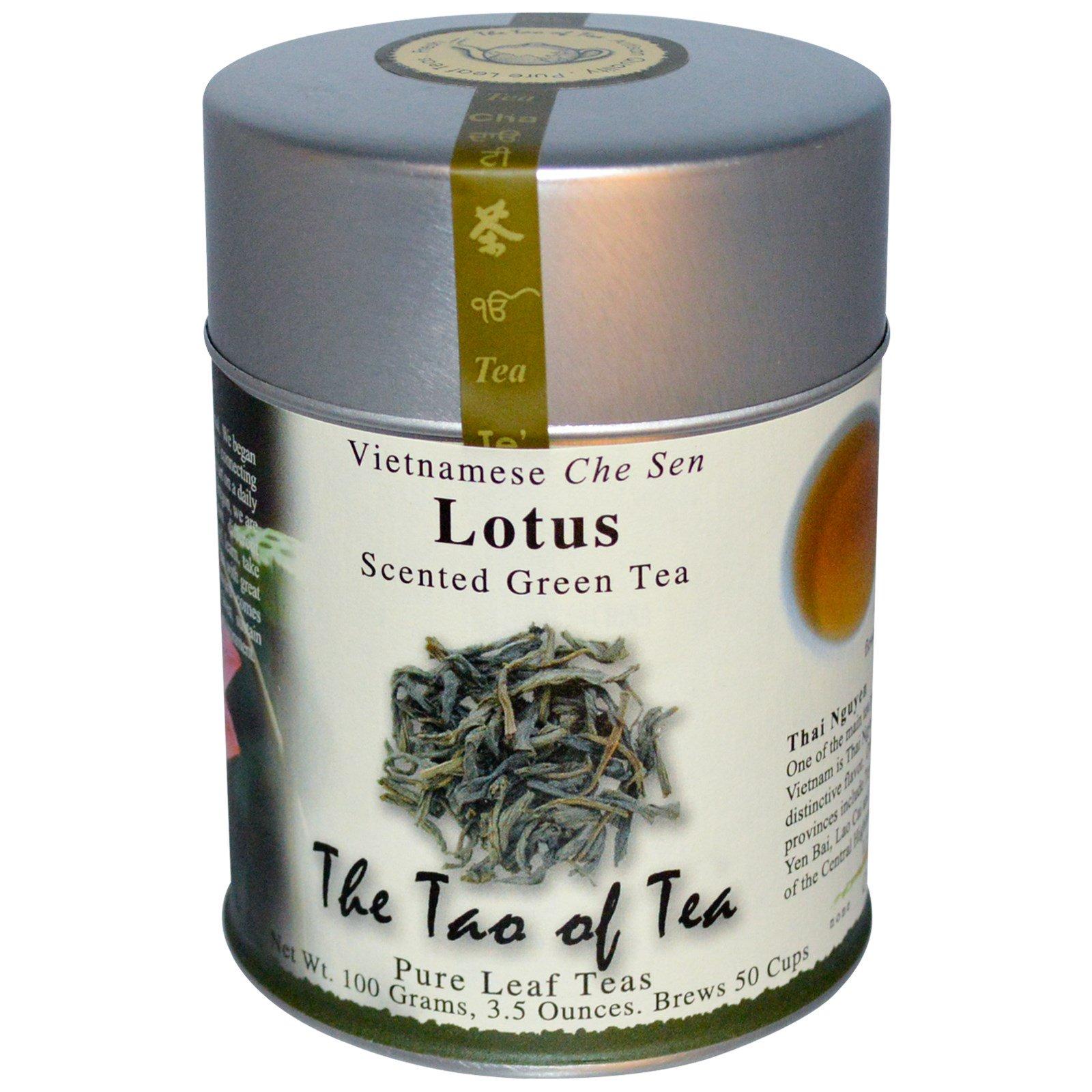 The tao of tea lotus scented green tea 35 oz 100 g iherb the tao of tea lotus scented green tea 35 oz 100 g izmirmasajfo