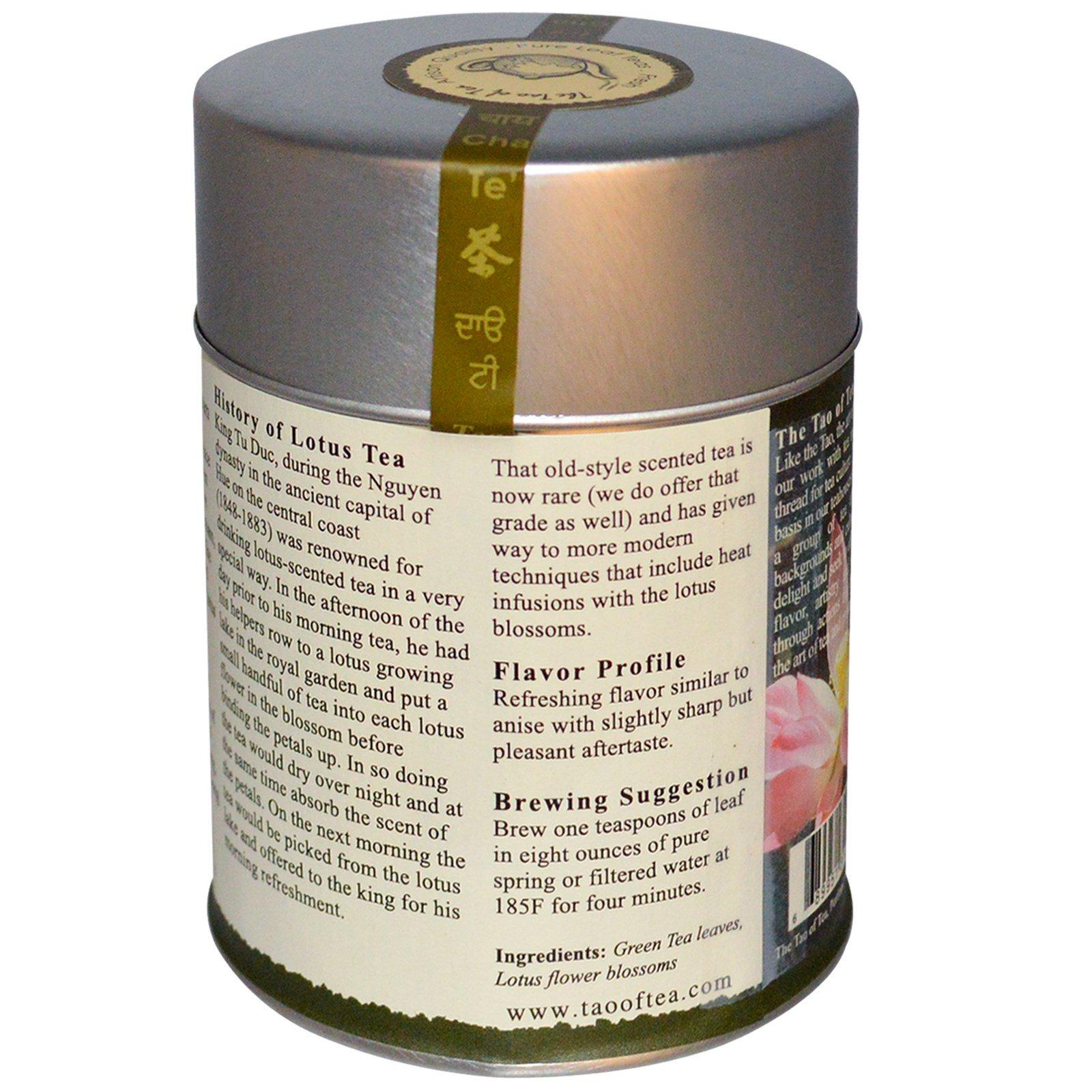 The tao of tea lotus scented green tea 35 oz 100 g iherb click to zoom izmirmasajfo