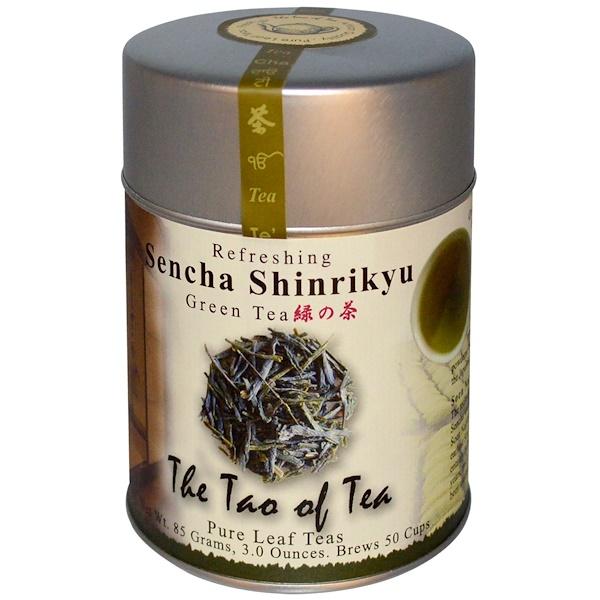The Tao of Tea, Sencha Shinrikyu, Green Tea, 3 oz (85 g) (Discontinued Item)