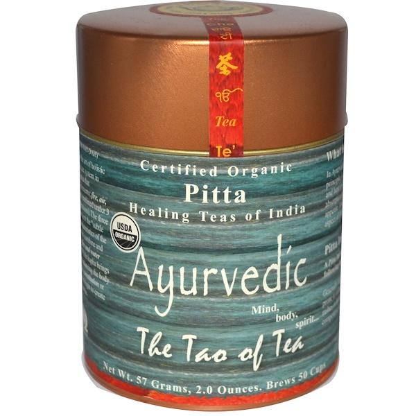 The Tao of Tea, Органический аюрведический чай питта, 2 унции (57 г) (Discontinued Item)