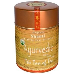 Зе Тао оф Ти, Organic Ayurvedic, Shanti Tea, 3.5 oz (100 g) отзывы