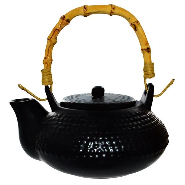 The Tao of Tea, Mori Teapot, Black, 10 oz (Discontinued Item)