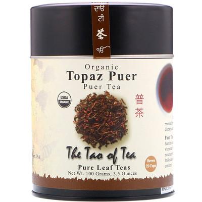 100% Органический Чай Пуэр Топаз, 3.5 унции (100 г)