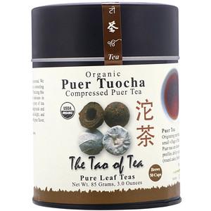 Зе Тао оф Ти, Organic Compressed Puer Tea, Puer Tuocha, 3.0 oz (85 g) отзывы покупателей