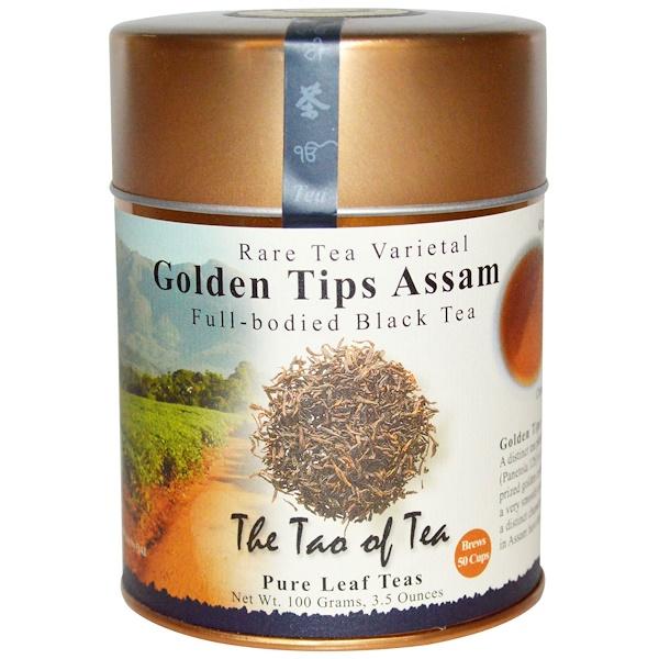The Tao of Tea, 濃郁紅茶,金芽阿薩姆紅茶,3、5盎司(100克)
