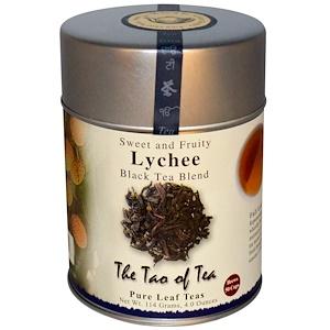 Зе Тао оф Ти, Lychee, Black Tea Blend, 4 oz (114 g) отзывы