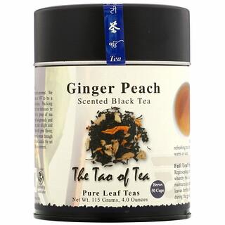 The Tao of Tea, Scented Black Tea, Ginger Peach, 4.0 oz (115 g)