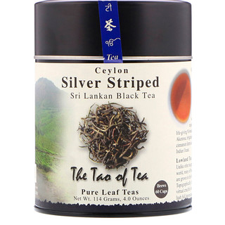 The Tao of Tea, Té negro Sri Lankan, ceilán en hebras plateadas, 4.0 oz (114 g)