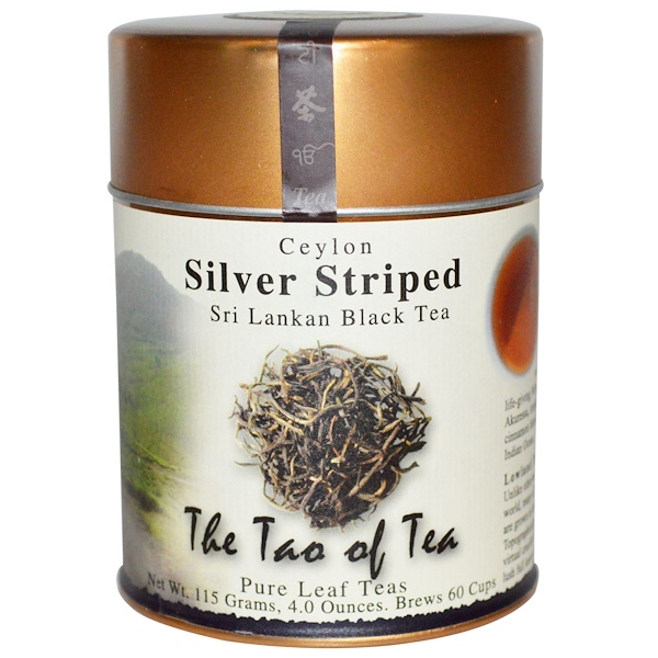 The Tao of Tea, Sri Lankan Black Tea, Silver Striped, 4.0 oz (115 g)