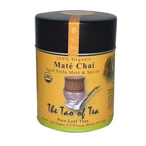 Зе Тао оф Ти, 100% Organic Mate Chai, 3.5 oz (100 g) отзывы