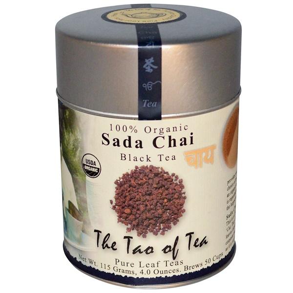 The Tao of Tea, Organic Black Tea, Sada Chai, 4.0 oz (115 g) (Discontinued Item)