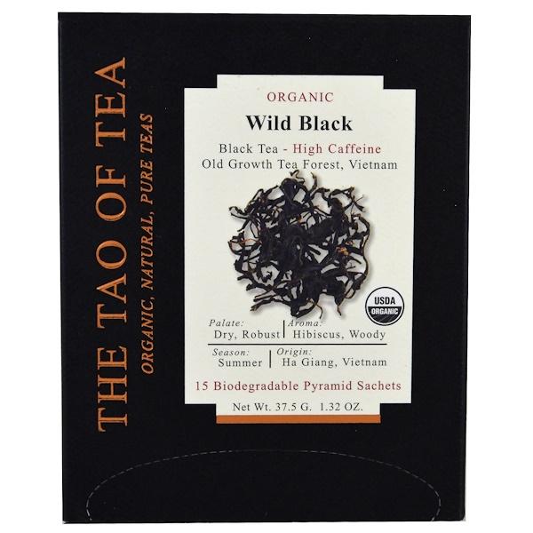 The Tao of Tea, 有機野生紅茶,15 袋,1、32 盎司(37、5 克)