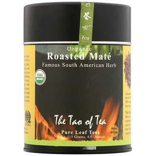 The Tao of Tea, Organic Roasted Maté, 4.0 oz (115 g)