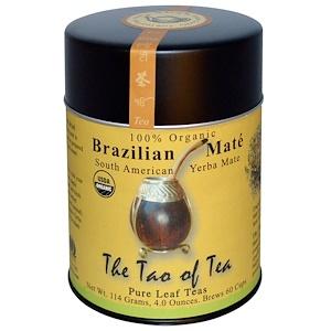 Зе Тао оф Ти, Organic Brazilian Mate, 4.0 oz (114 g) отзывы