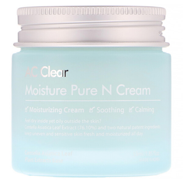 AC Clear, Moisture Pure N Cream,  1.85 fl oz (55 ml)