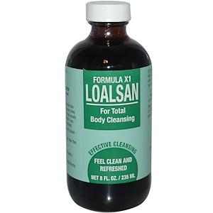 ТПЦС, Loalsan, Formula X1, For Total Body Cleansing, 8 fl oz (235 ml) отзывы