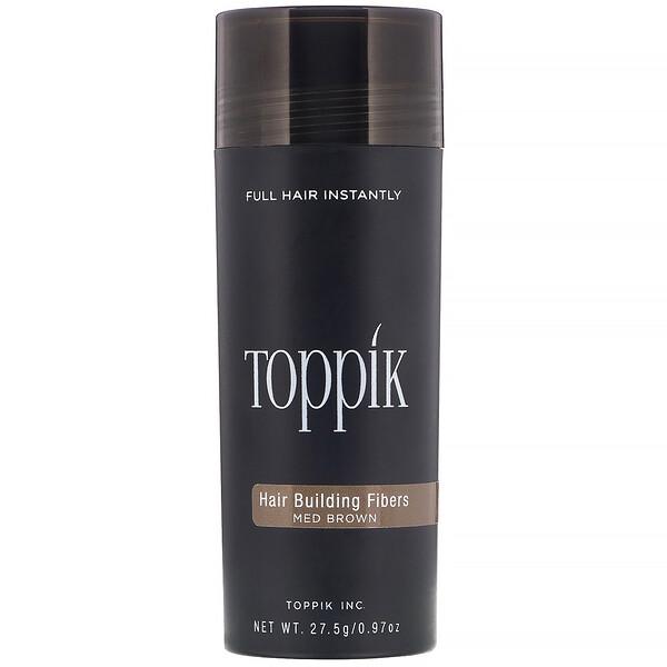 Hair Building Fibers, Medium Brown, 0.97 oz (27.5 g)