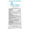 Triple Paste, Zinc Oxide Diaper Rash Cream, Fragrance-Free, 2 oz (57 g)