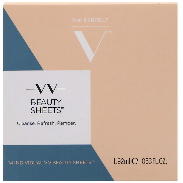 V V Beauty Sheets, 14 Sheets, 0.063 fl oz (1.92 ml)