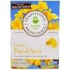 Traditional Medicinals, Herbal Teas, Yellow Pau d' Arco, Naturally Caffeine Free, 16 Wrapped Tea Bags, .85 oz (24 g)
