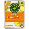 Traditional Medicinals, Organic Ginger Aid, Caffeine Free, 16 Wrapped Tea Bags, 1.13 oz (32 g)