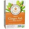 Traditional Medicinals, Чай для пищеварения, органический имбирь, без кофеина