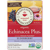 Traditional Medicinals, Organic Echinacea Plus, Elderberry, Caffeine Free, 16 Wrapped Tea Bags, .85 oz (24 g)