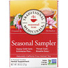 Traditional Medicinals, Seasonal Teas, Seasonal Sampler, Naturally Caffeine Free, 16 Wrapped Tea Bags, .96 oz (27 g)