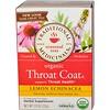 Traditional Medicinals, Seasonal Teas, Organic Throat Coat, Naturally Caffeine Free, Lemon Echinacea, 16 Wrapped Tea Bags, 1.13 oz (32 g)