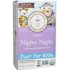 Traditional Medicinals, Just for Kids, Organic, Nighty Night, Naturally Caffeine Free Herbal Tea, 18 Wrapped Tea Bags, .96 oz (27 g) (Discontinued Item)