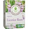 Herbal Teas, органический корень солодки, без кофеина, 16 упакованных пакетиков, .85 унц. (24 г)