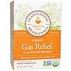 Traditional Medicinals, Digestive Teas, Organic Gas Relief Tea, Naturally Caffeine Free, 16 Wrapped Tea Bags, .85 oz (24 g)