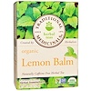 Traditional Medicinals, Herbal Teas, Organic Lemon Balm, Naturally Caffeine Free, 16 Wrapped Tea Bags, .85 oz (24 g)