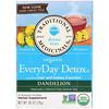 Traditional Medicinals, Organic EveryDay Detox Tea, Dandelion, Caffeine Free, 16 Wrapped Tea Bags, .85 (24 g)