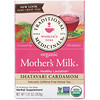 Traditional Medicinals, Organic Mother's Milk, Shatavari Cardamom, Caffeine Free, 16 Wrapped Tea Bags, 1.0 oz (28.8 g)