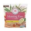 Traditional Medicinals, Organic, Morning Ease, Lemon Ginger, 30 Individually Wrapped Lozenges, 4.13 oz (117 g)