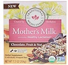 Traditional Medicinals, Mother's Milk, Chocolate, Fruit, & Nut, 6 Individually Wrapped Bars, 7.2 oz (204 g)