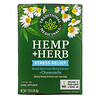 Traditional Medicinals, Hemp+ Herb, Stress Relief, + Chamomile, Caffeine Free, 20 mg, 16 Wrapped Tea Bags, .73 oz (20.8 g)