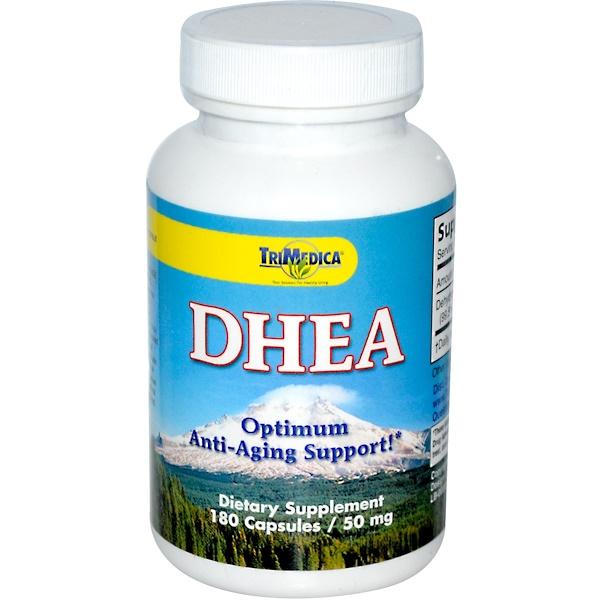 Trimedica, DHEA, 50 mg, 180 Capsules (Discontinued Item)