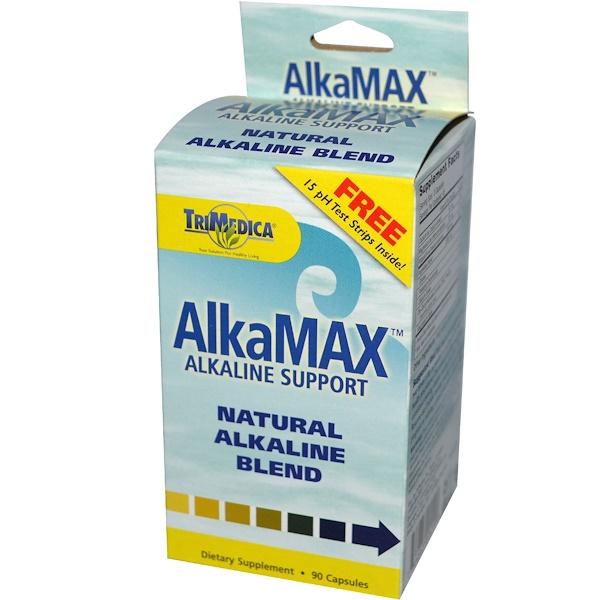 Trimedica, AlkaMax, Natural Alkaline Blend, 90 Capsules (Discontinued Item)
