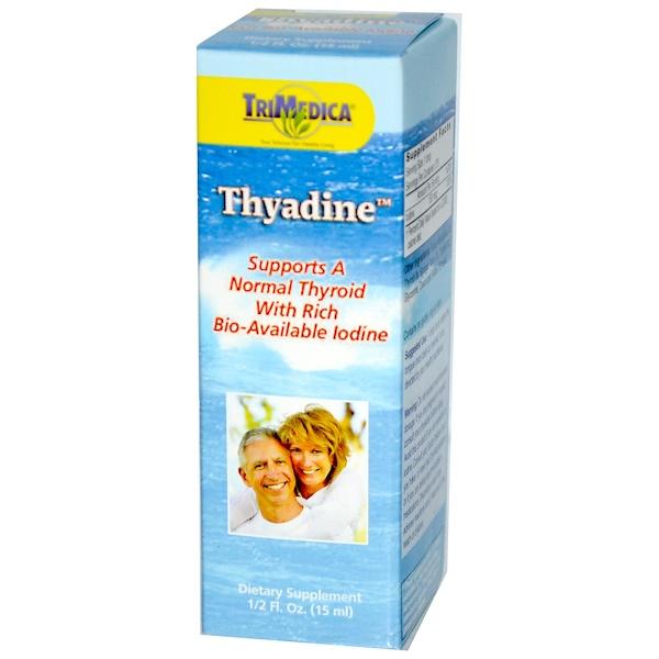 Trimedica, Thyadine, Rich Bio-Available Iodine, 1/2 fl oz (15 ml) (Discontinued Item)
