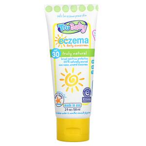 TruKid, TruBaby, Eczema Daily Sunscreen, SPF 30, Unscented, 2 fl oz (58 ml)